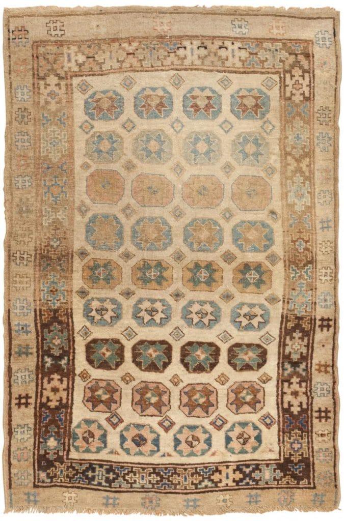 Antique Persian Kurdish Rug 46306 by Nazmiyal