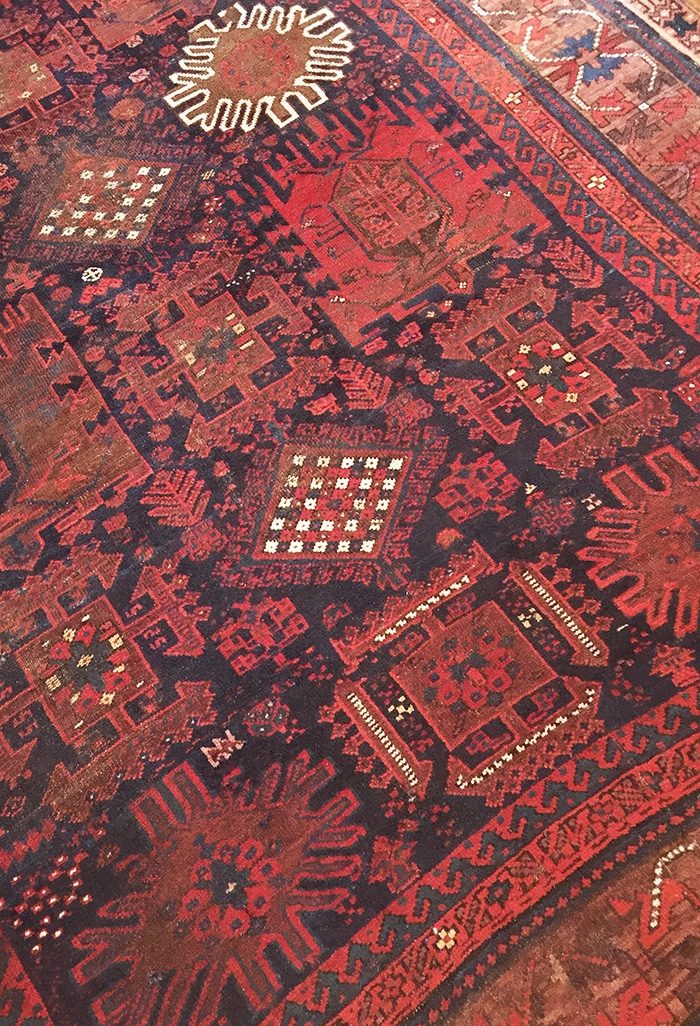 Tribal Baluch Persian Antique Rug by Nazmiyal
