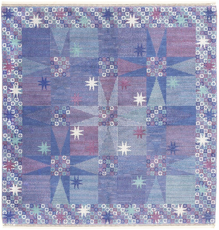 Scandinavian Pile Carpet By Barbro Nilsson - Nazmiyal