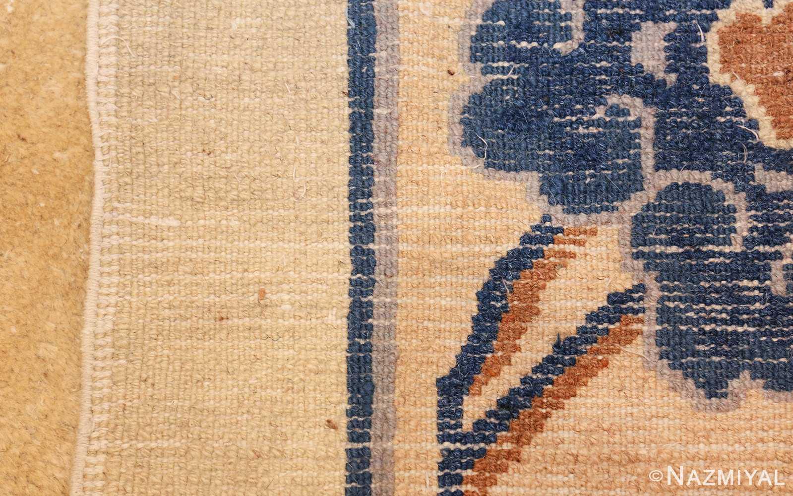 antique cream background chinese rug 49480 weave Nazmiyal
