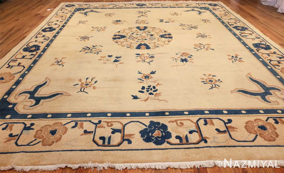 antique cream background chinese rug 49480 whole Nazmiyal