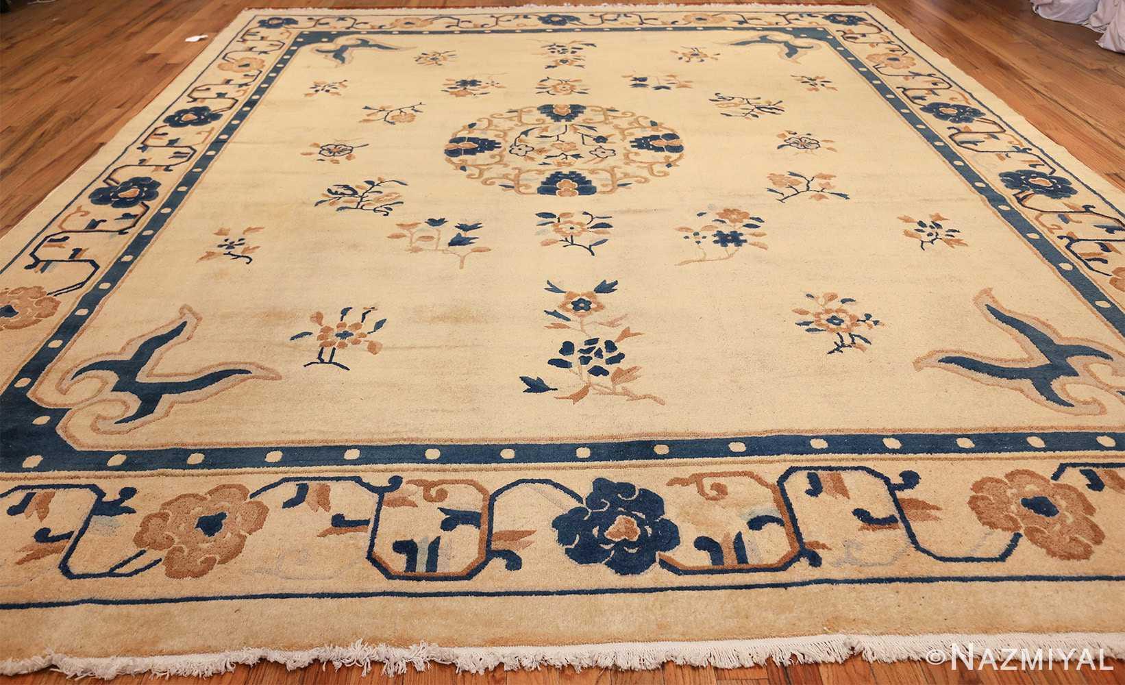 antique cream background chinese rug 49480 whole Nazmiyal