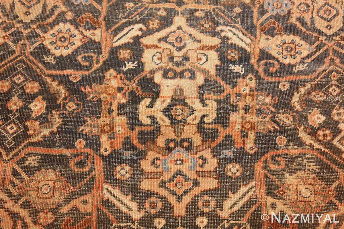 antique shabby chic mahal persian rug 49442 closeup Nazmiyal