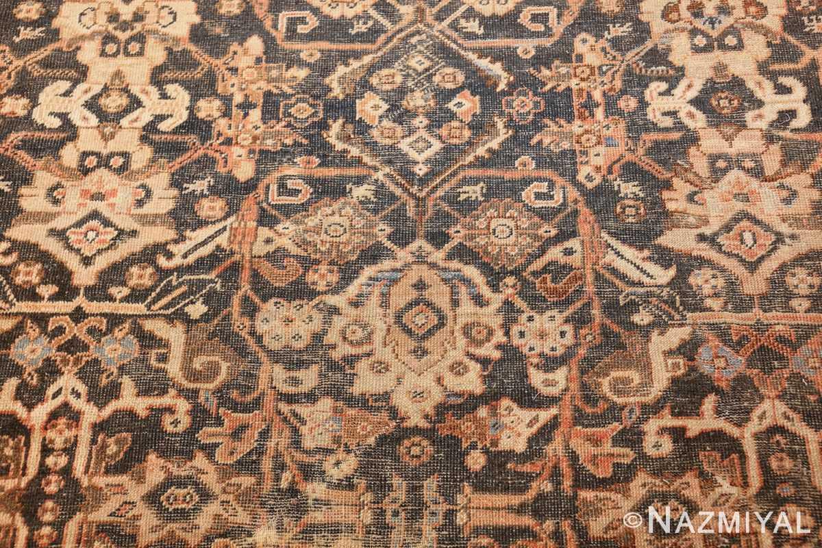 antique shabby chic mahal persian rug 49442 field Nazmiyal