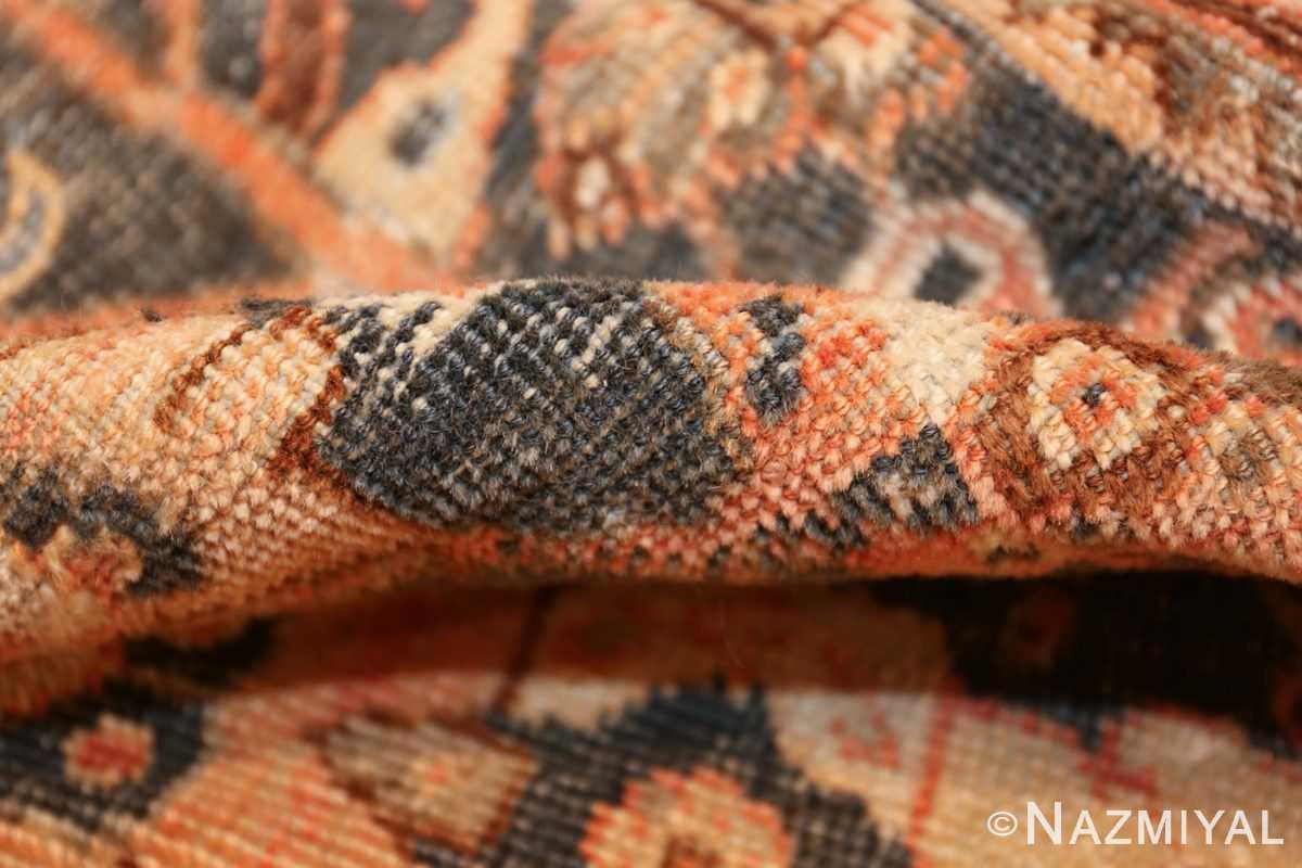 antique shabby chic mahal persian rug 49442 pile Nazmiyal