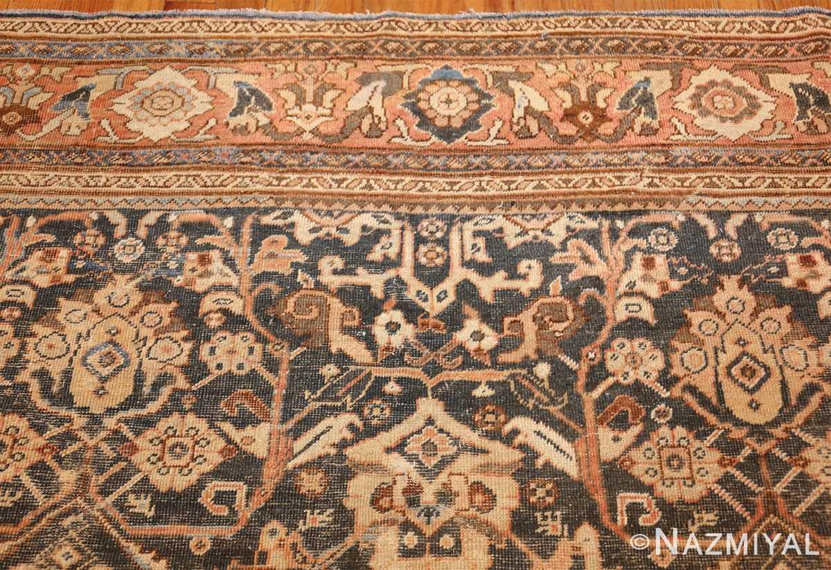 antique shabby chic mahal persian rug 49442 top Nazmiyal
