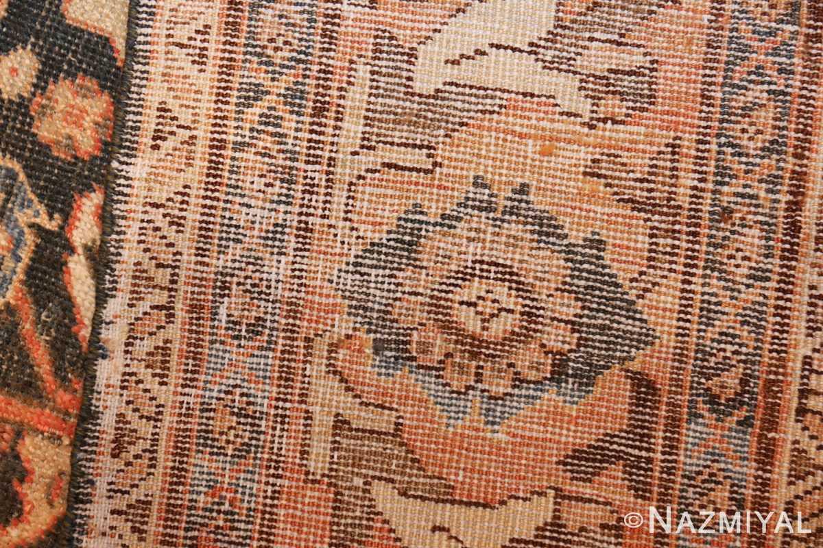 antique shabby chic mahal persian rug 49442 weave Nazmiyal