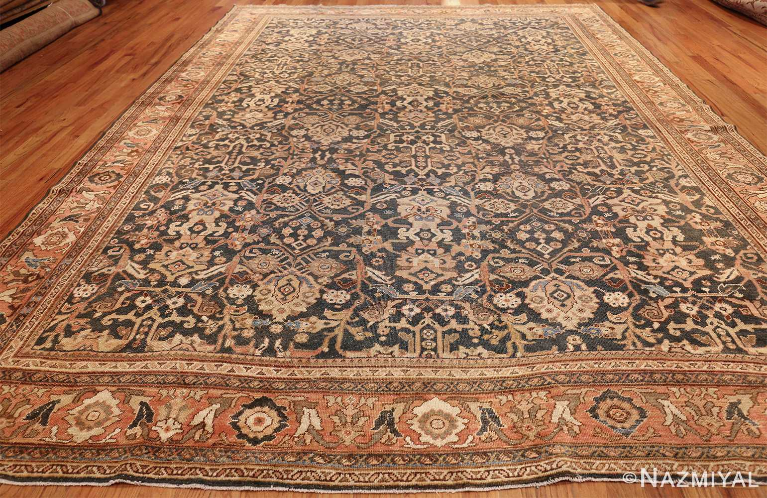 Room Size Antique Persian Shabby Chic Mahal Rug 49442