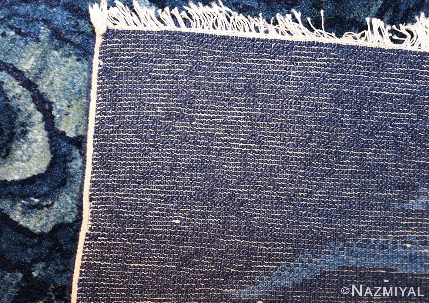 antique small chinese rug 49464 weave Nazmiyal