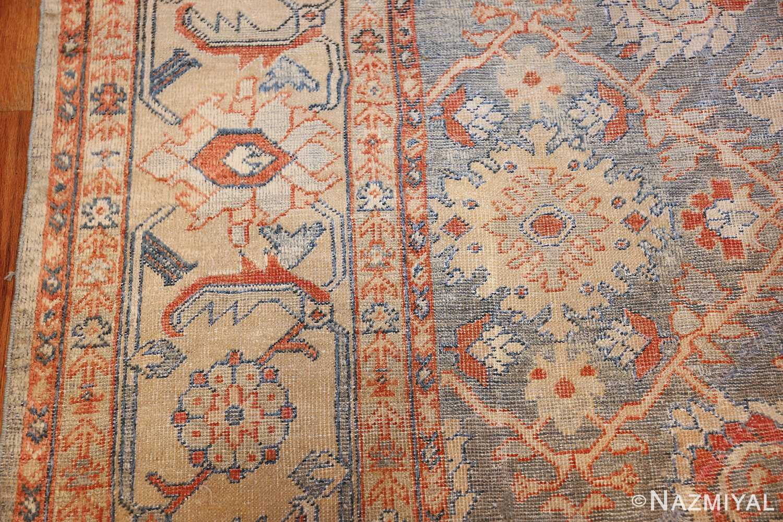 grayish bakground antique sultanabad persian rug 49388 design Nazmiyal