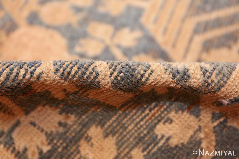 light blue antique khotan rug 49449 pile Nazmiyal