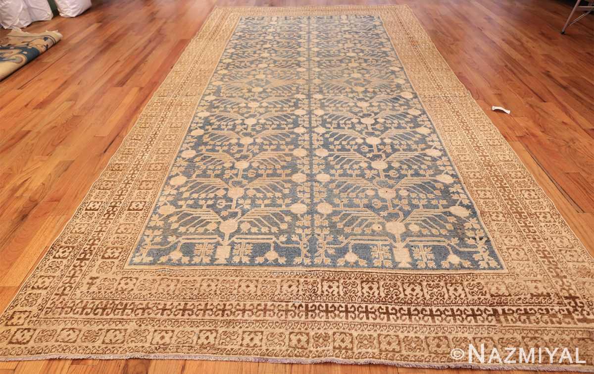 light blue antique khotan rug 49449 whole Nazmiyal