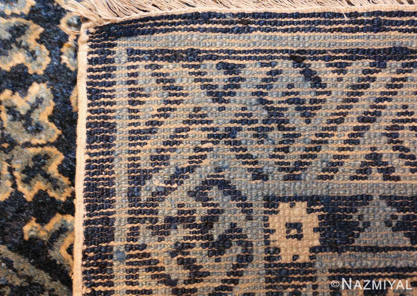 small scatter size antique chinese rug 49463 weave Nazmiyal