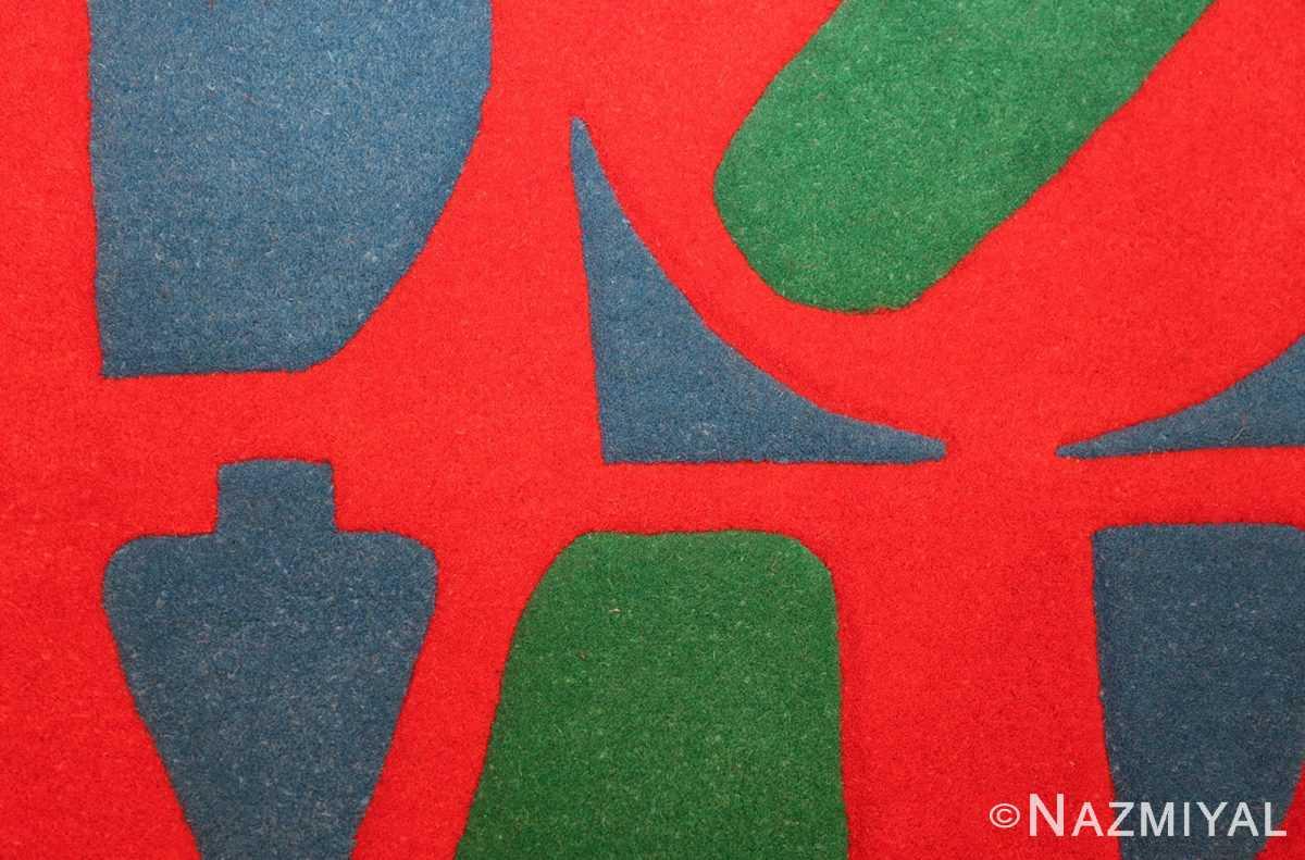 small vintage love rug by robert indiana 49470 colors Nazmiyal