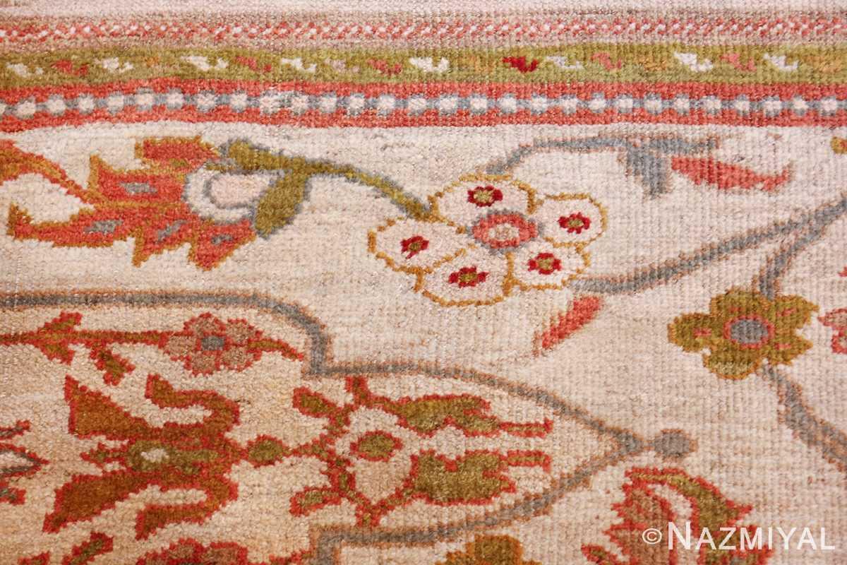 antique animal motif ziegler sultanabad persian rug 49532 flower Nazmiyal
