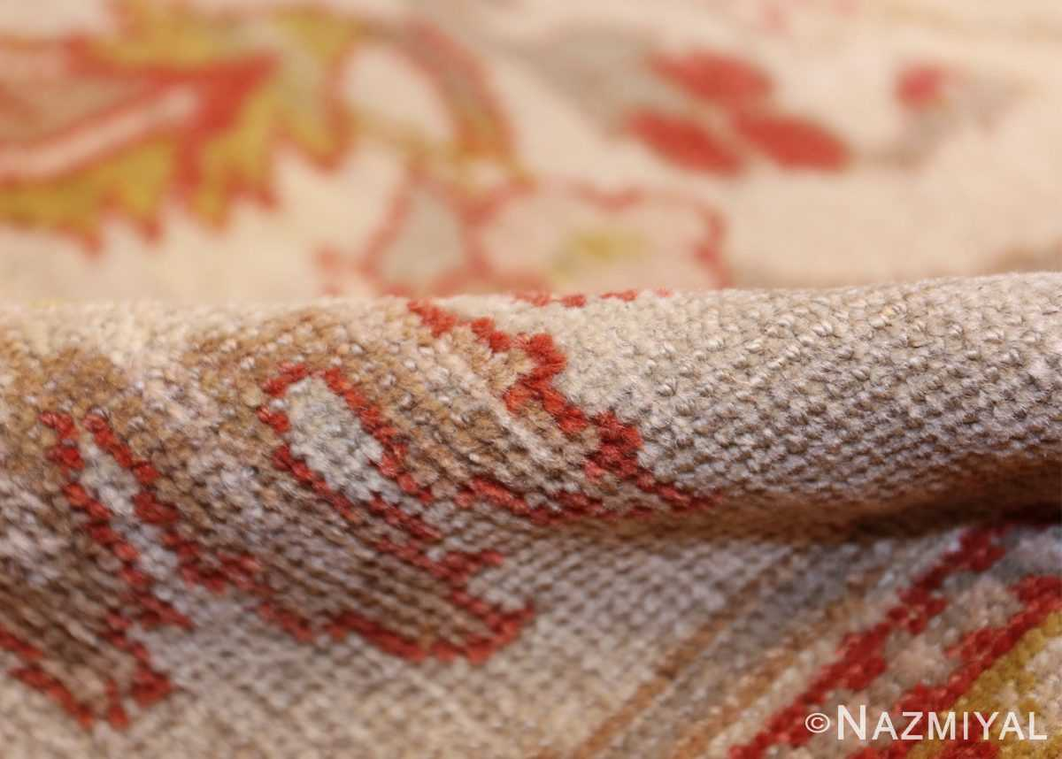 antique animal motif ziegler sultanabad persian rug 49532 pile Nazmiyal