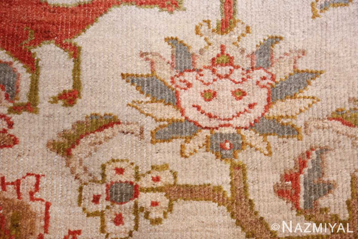 antique animal motif ziegler sultanabad persian rug 49532 smile Nazmiyal