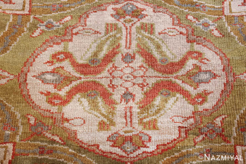 antique animal motif ziegler sultanabad persian rug 49532 snakes Nazmiyal