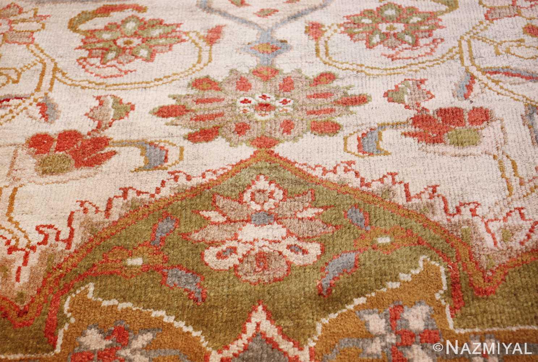 antique animal motif ziegler sultanabad persian rug 49532 tiara Nazmiyal