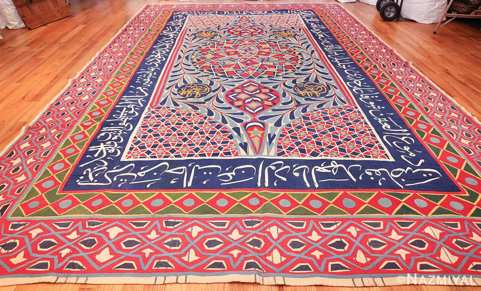 antique khayamiya tent panel egyptian textile 49512 whole Nazmiyal