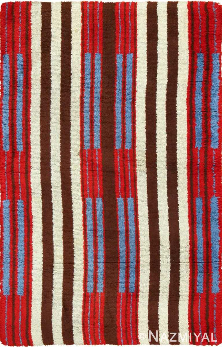 colorful geometric navajo design american rug 49523 Nazmiyal