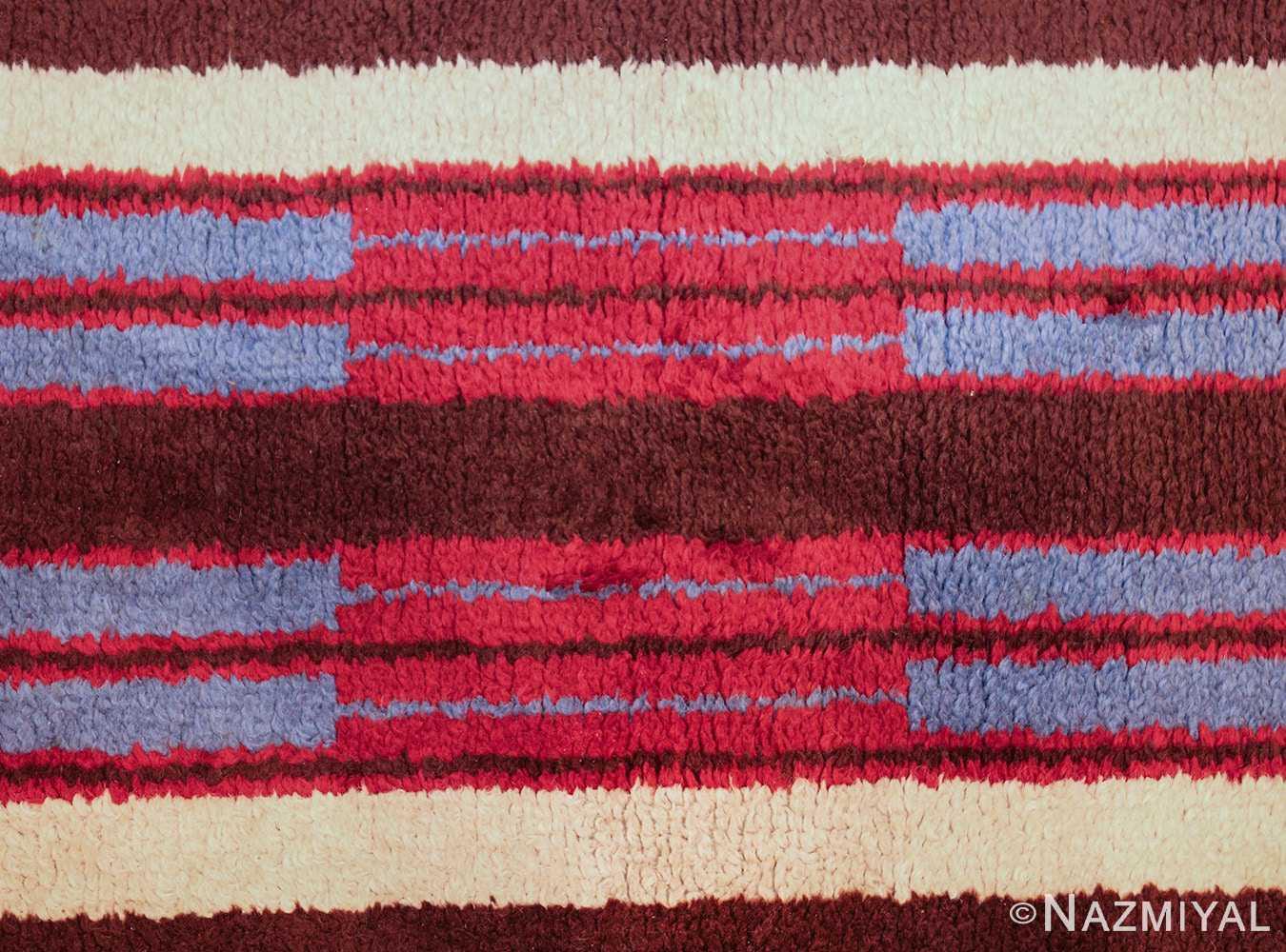 colorful geometric navajo design american rug 49523 center Nazmiyal
