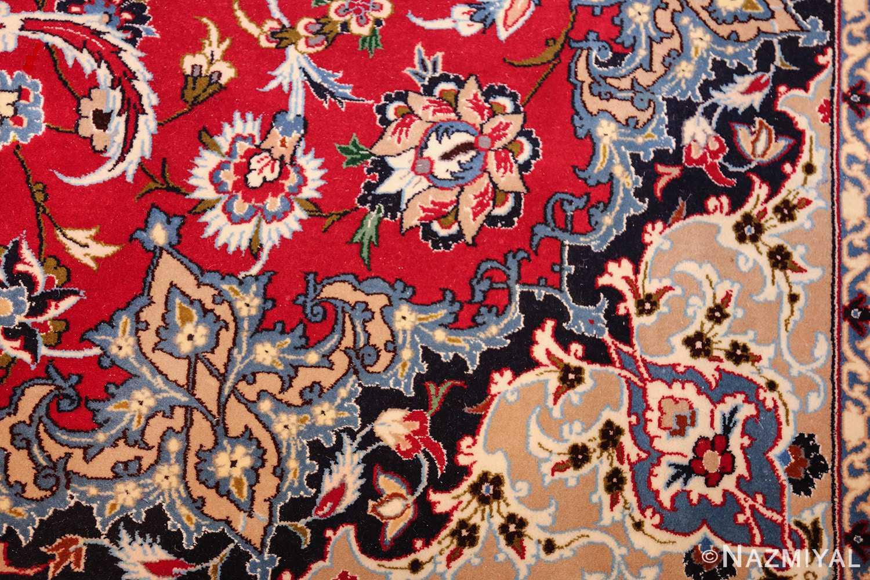 fine silk and wool isfahan persian rug 49535 design Nazmiyal