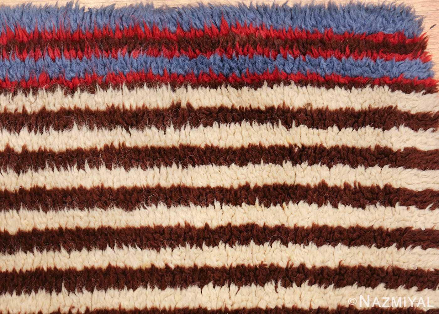geometric vintage navajo design american rug 49522 corner Nazmiyal