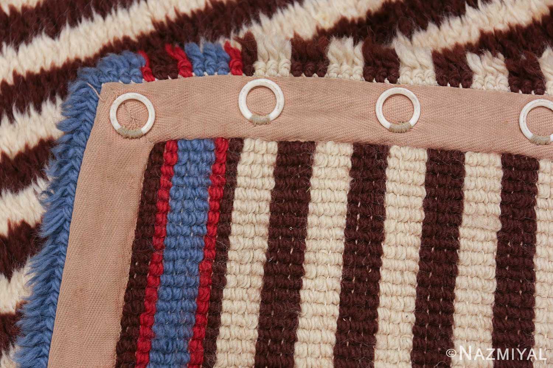 geometric vintage navajo design american rug 49522 weave Nazmiyal