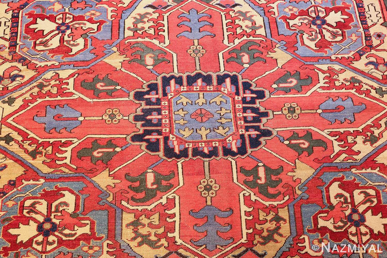large antique heriz serapi persian rug 49518 center Nazmiyal