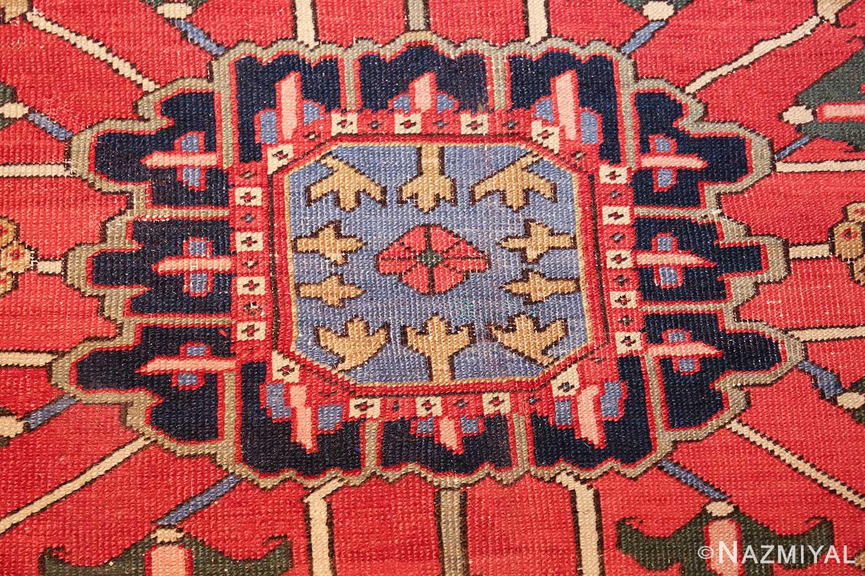 large antique heriz serapi persian rug 49518 middle Nazmiyal