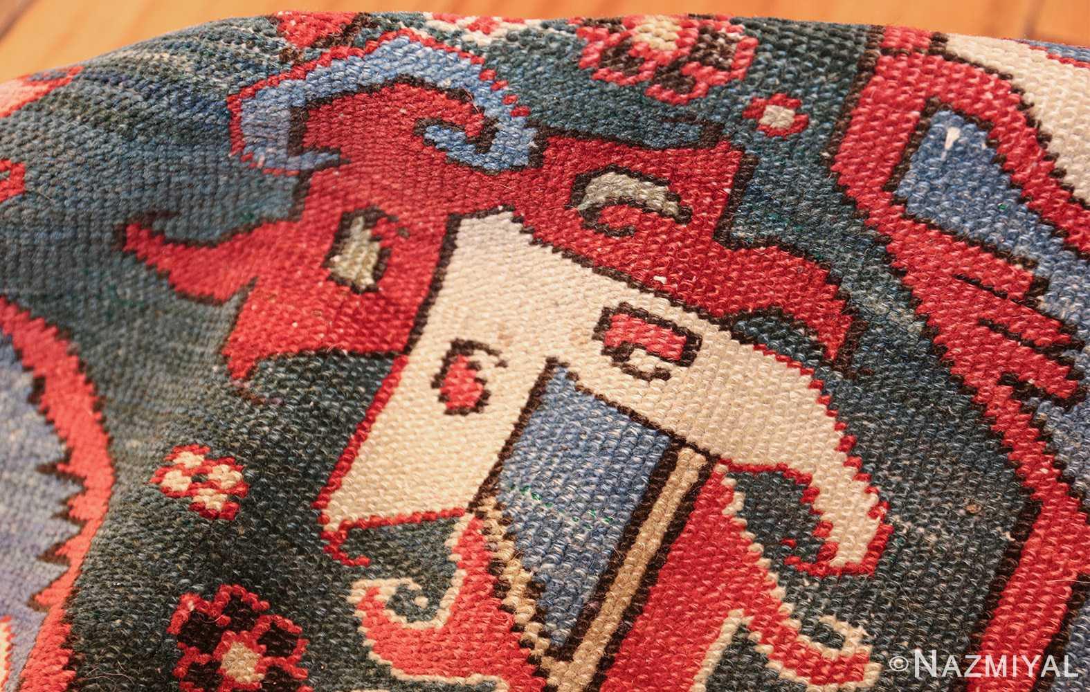 large antique heriz serapi persian rug 49518 pile Nazmiyal
