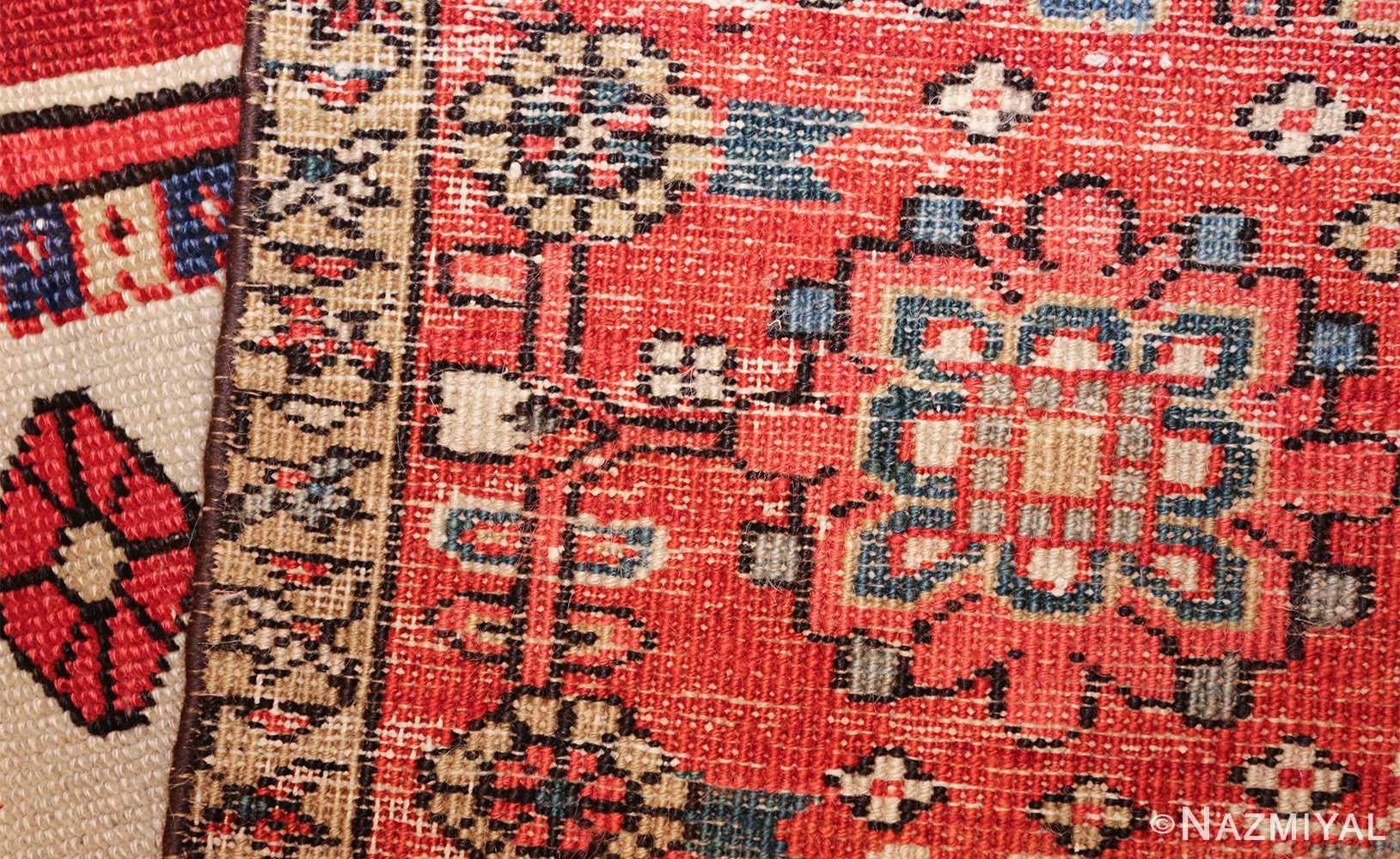 large antique heriz serapi persian rug 49518 weave Nazmiyal