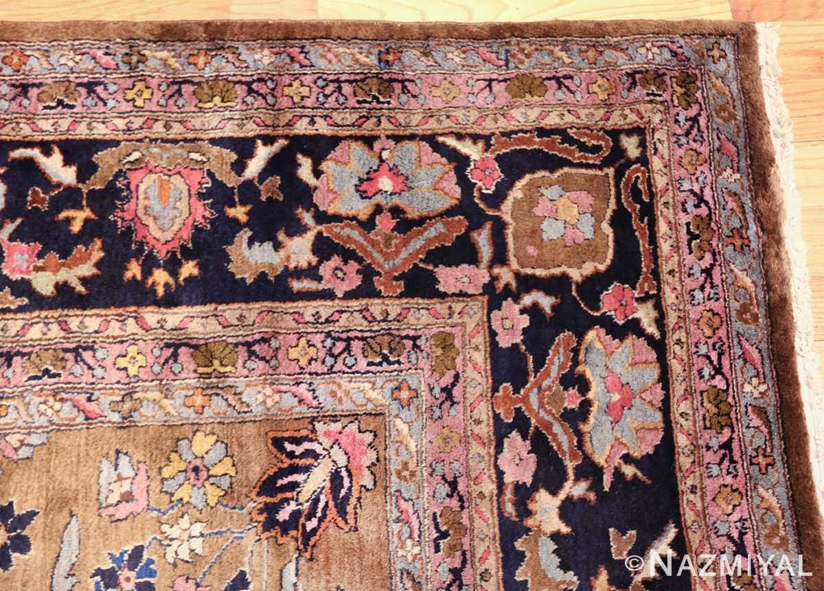 room size antique indian rug 49514 color Nazmiyal