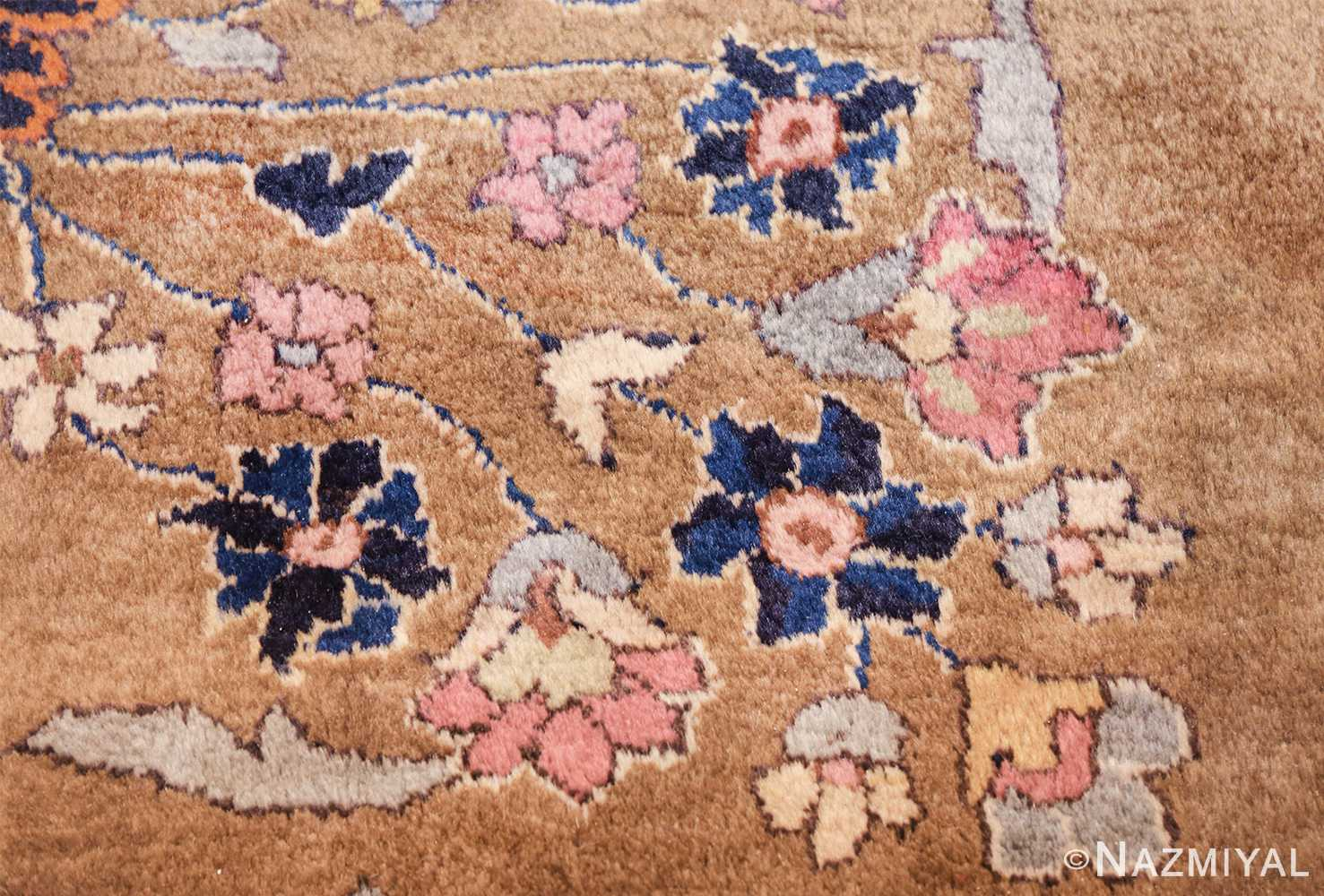 room size antique indian rug 49514 flowers Nazmiyal