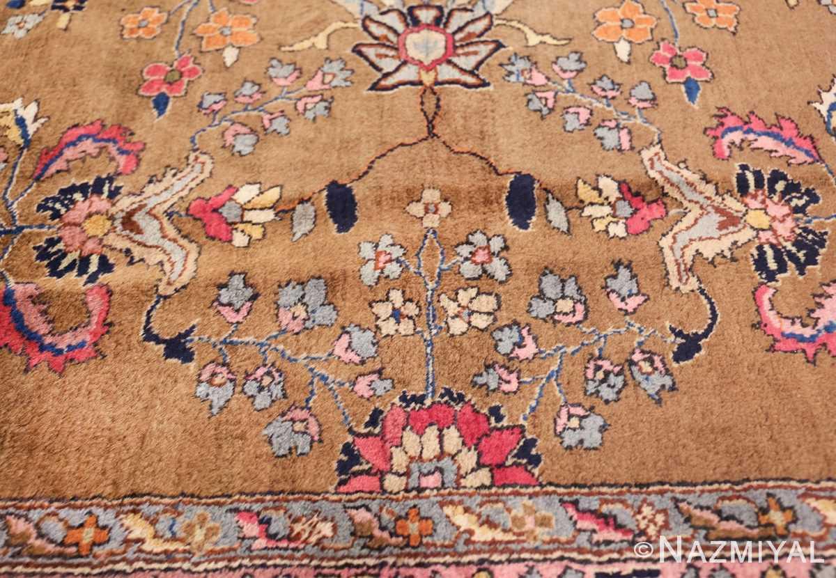 room size antique indian rug 49514 pink Nazmiyal