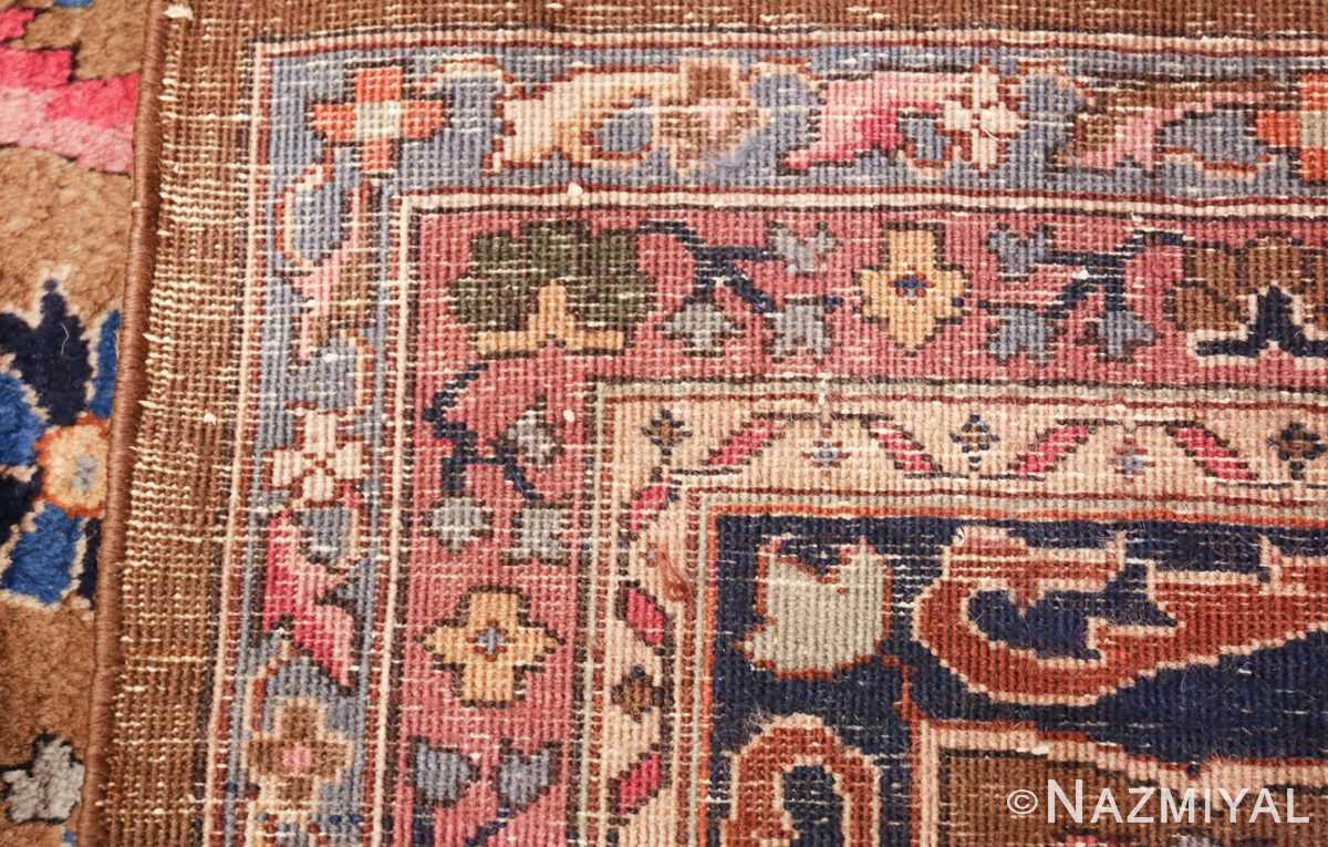 room size antique indian rug 49514 weave Nazmiyal
