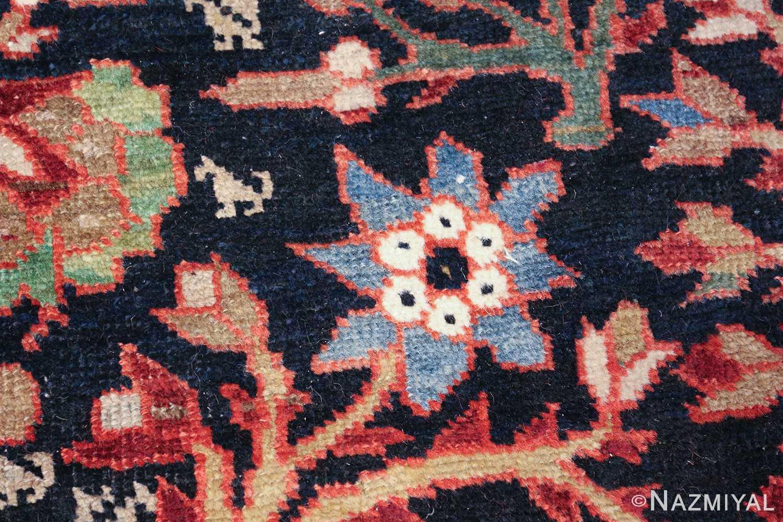 tree of life antique malayer persian rug 49527 blue Nazmiyal