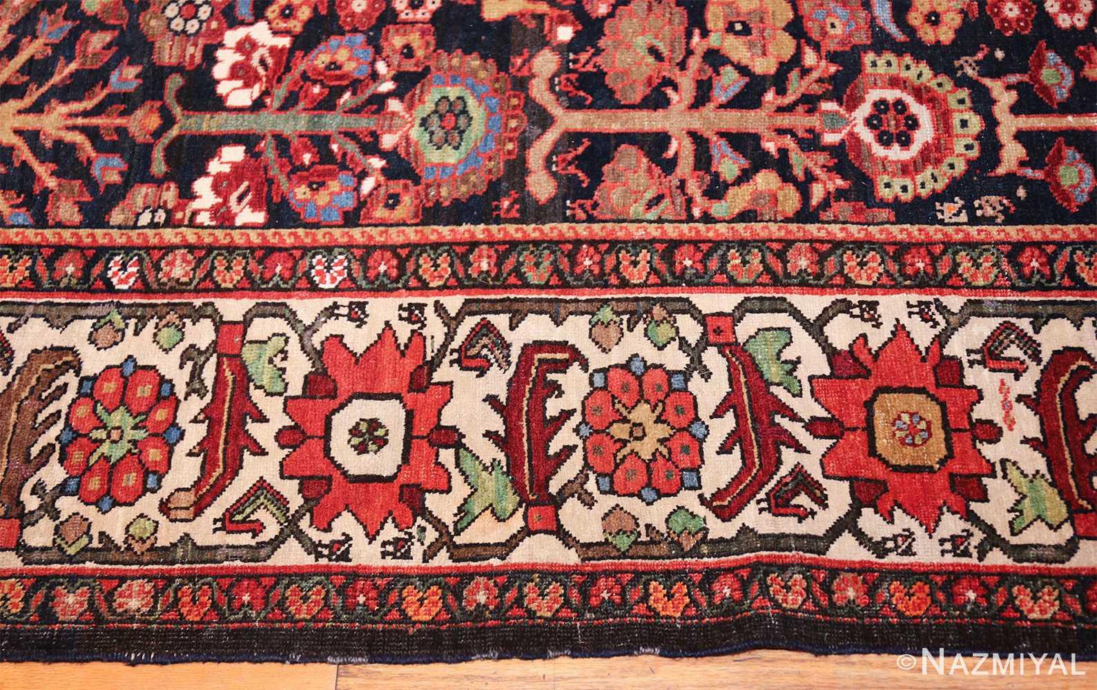 tree of life antique malayer persian rug 49527 border Nazmiyal