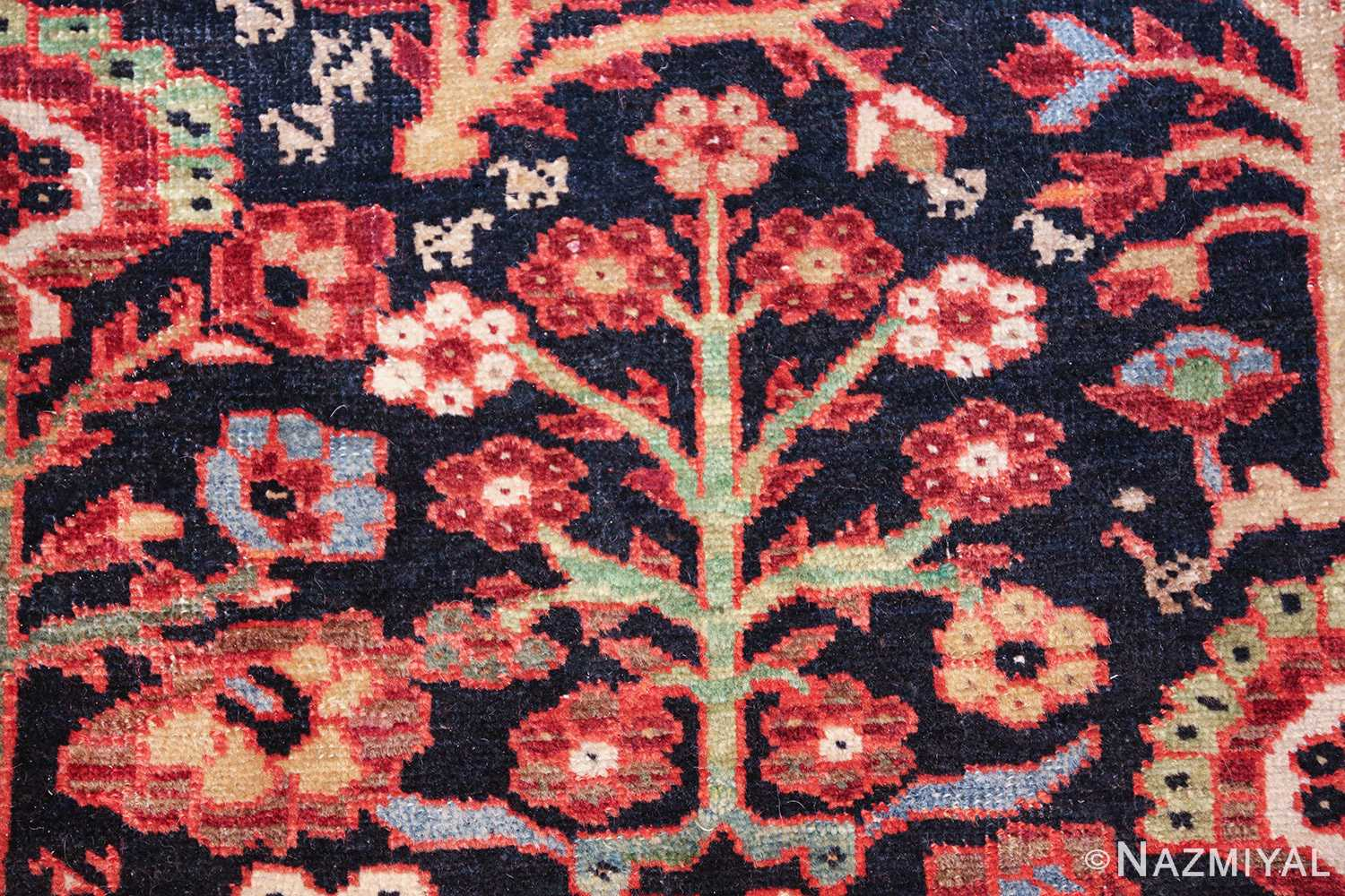 tree of life antique malayer persian rug 49527 flowers Nazmiyal