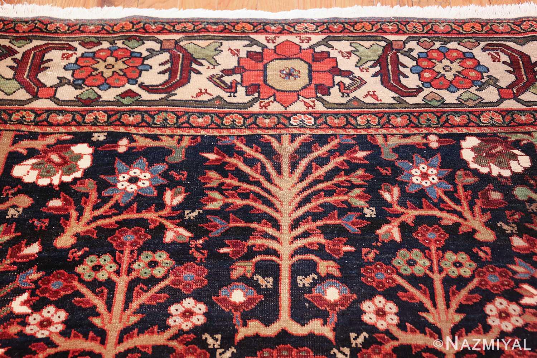 tree of life antique malayer persian rug 49527 top Nazmiyal