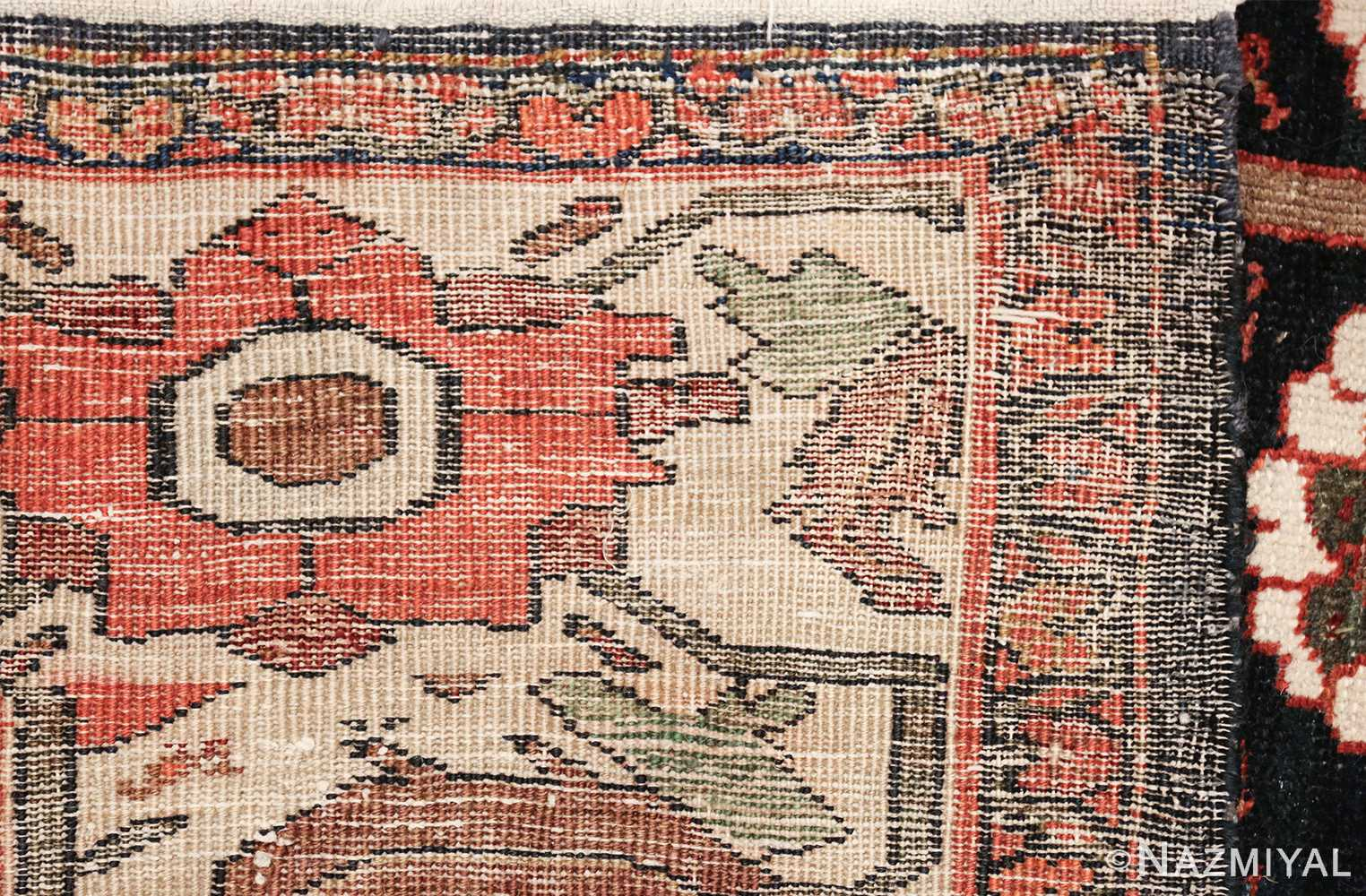 tree of life antique malayer persian rug 49527 weave Nazmiyal