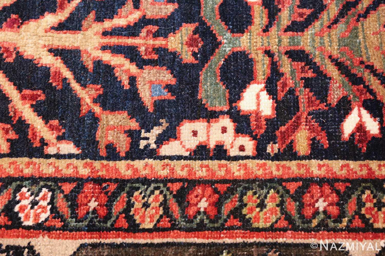 tree of life antique malayer persian rug 49527 white Nazmiyal