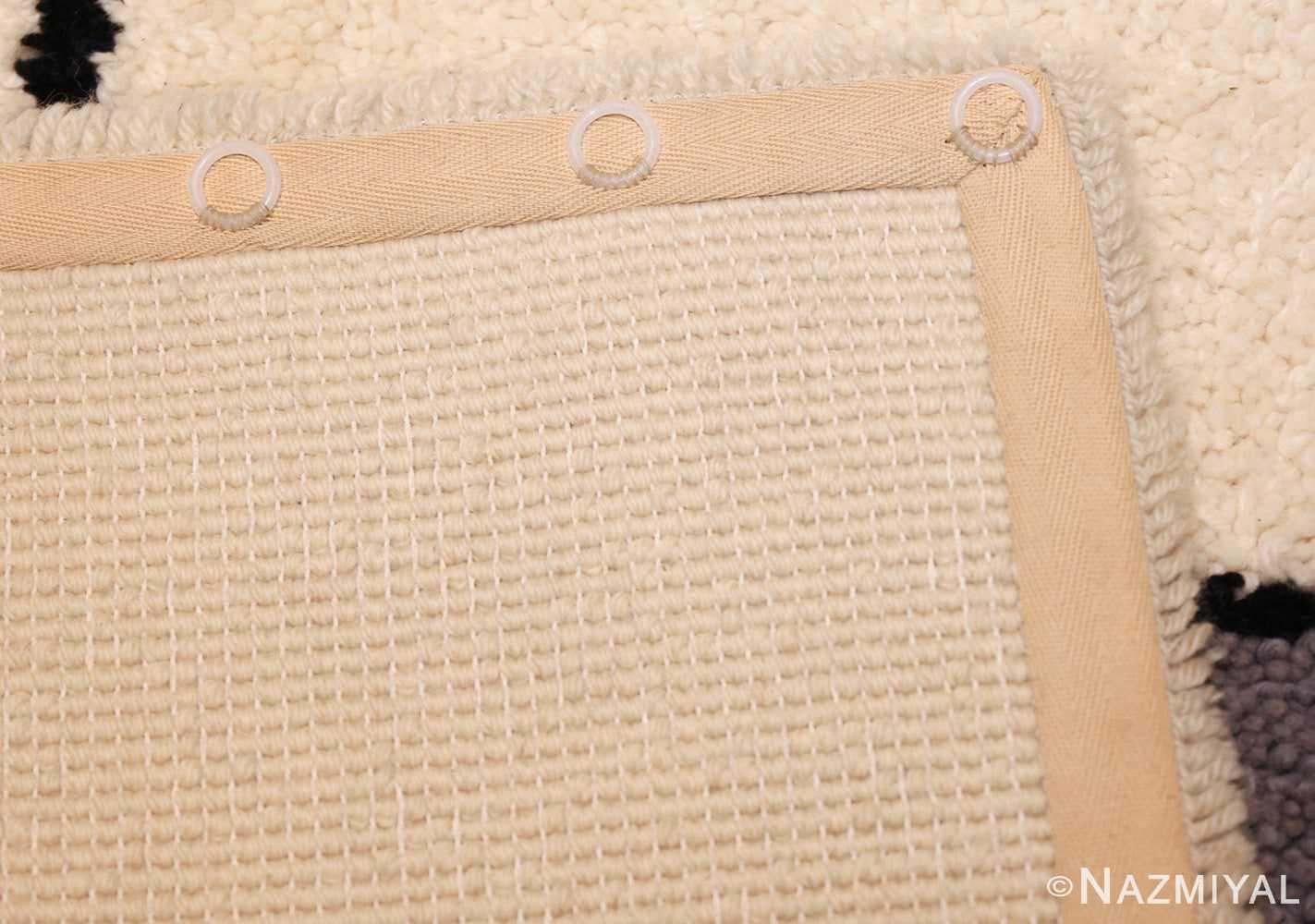 vintage modernist mondrian design scandinavian rug 49524 weave Nazmiyal