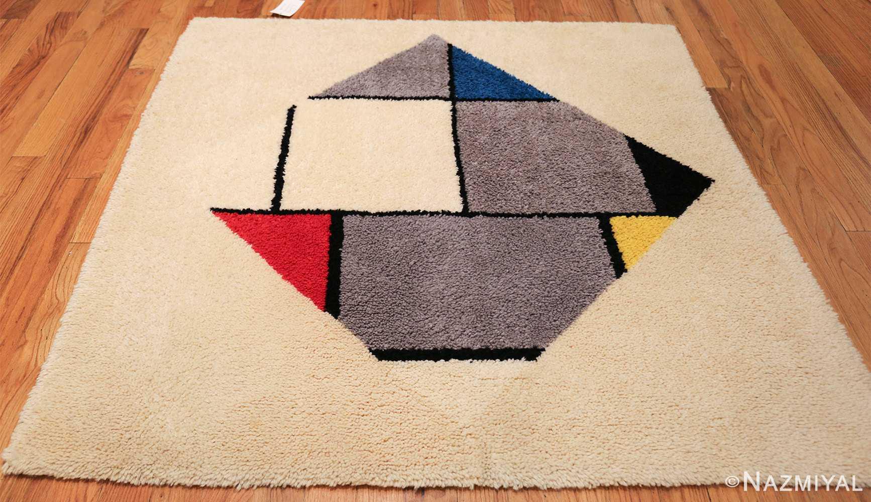 vintage modernist mondrian design scandinavian rug 49524 whole Nazmiyal
