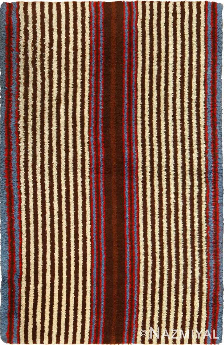 vintage navajo design american rug 49522 Nazmiyal