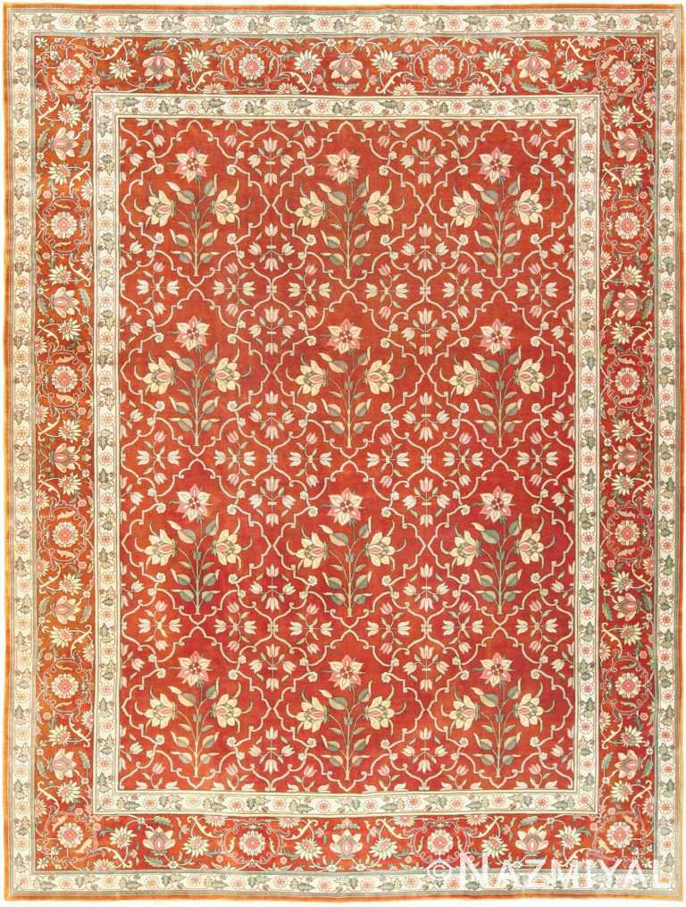 vintage room size indian rug 49477 Nazmiyal