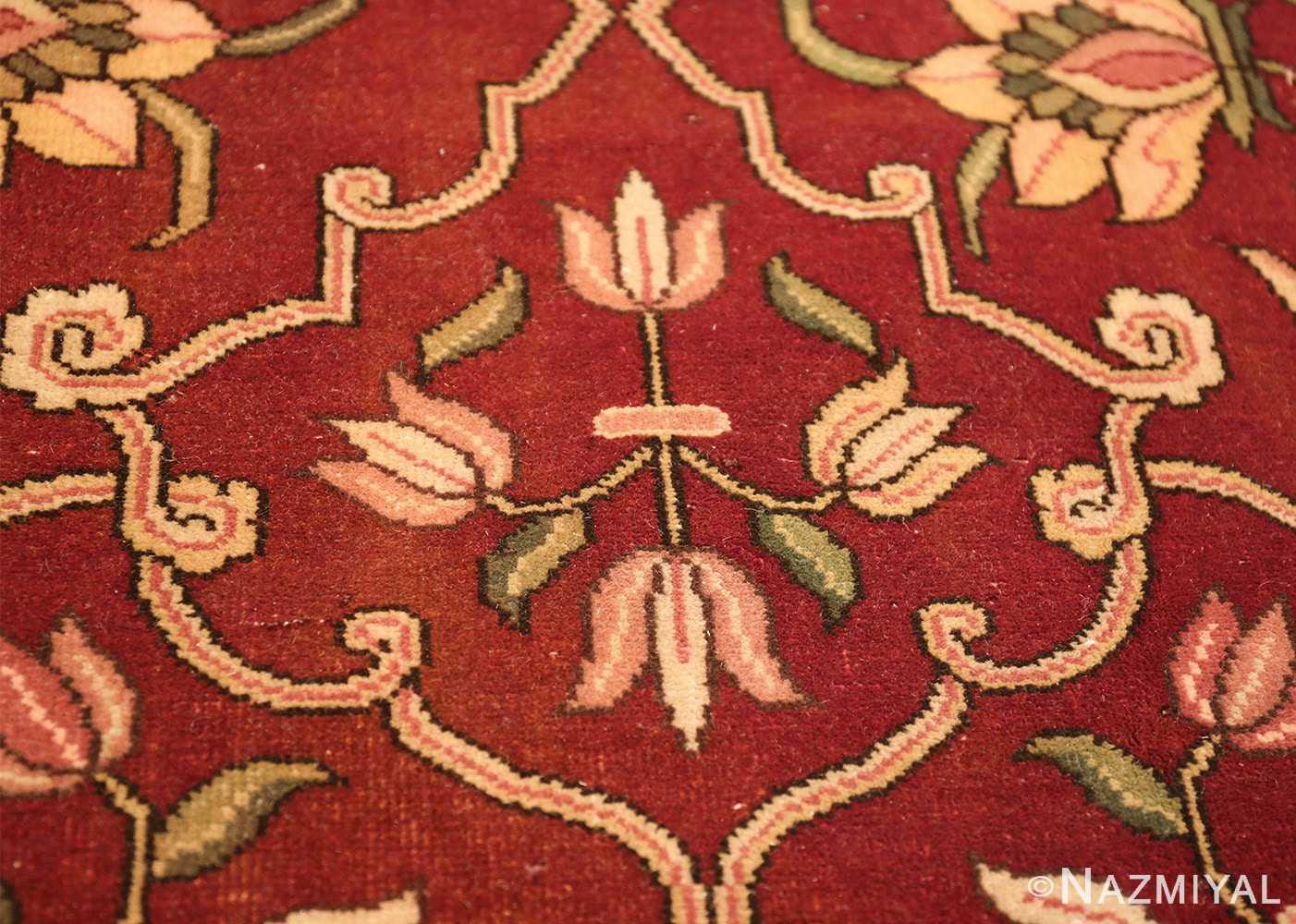 vintage room size indian rug 49477 bush Nazmiyal