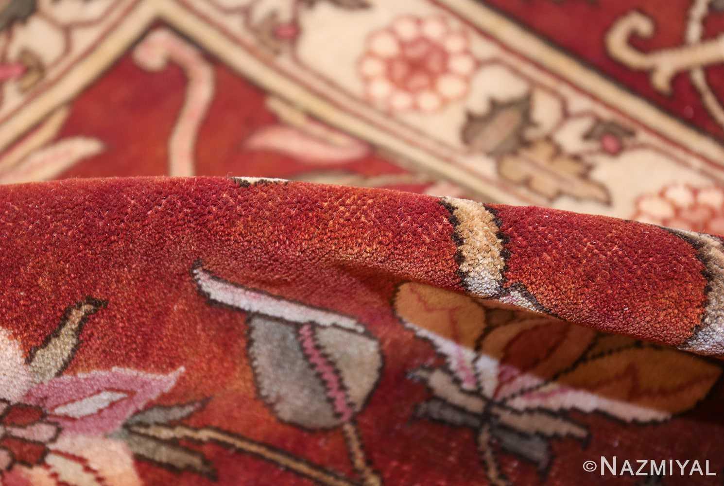 vintage room size indian rug 49477 pile Nazmiyal