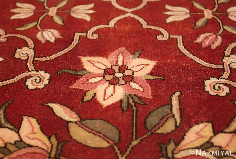 vintage room size indian rug 49477 tiny Nazmiyal